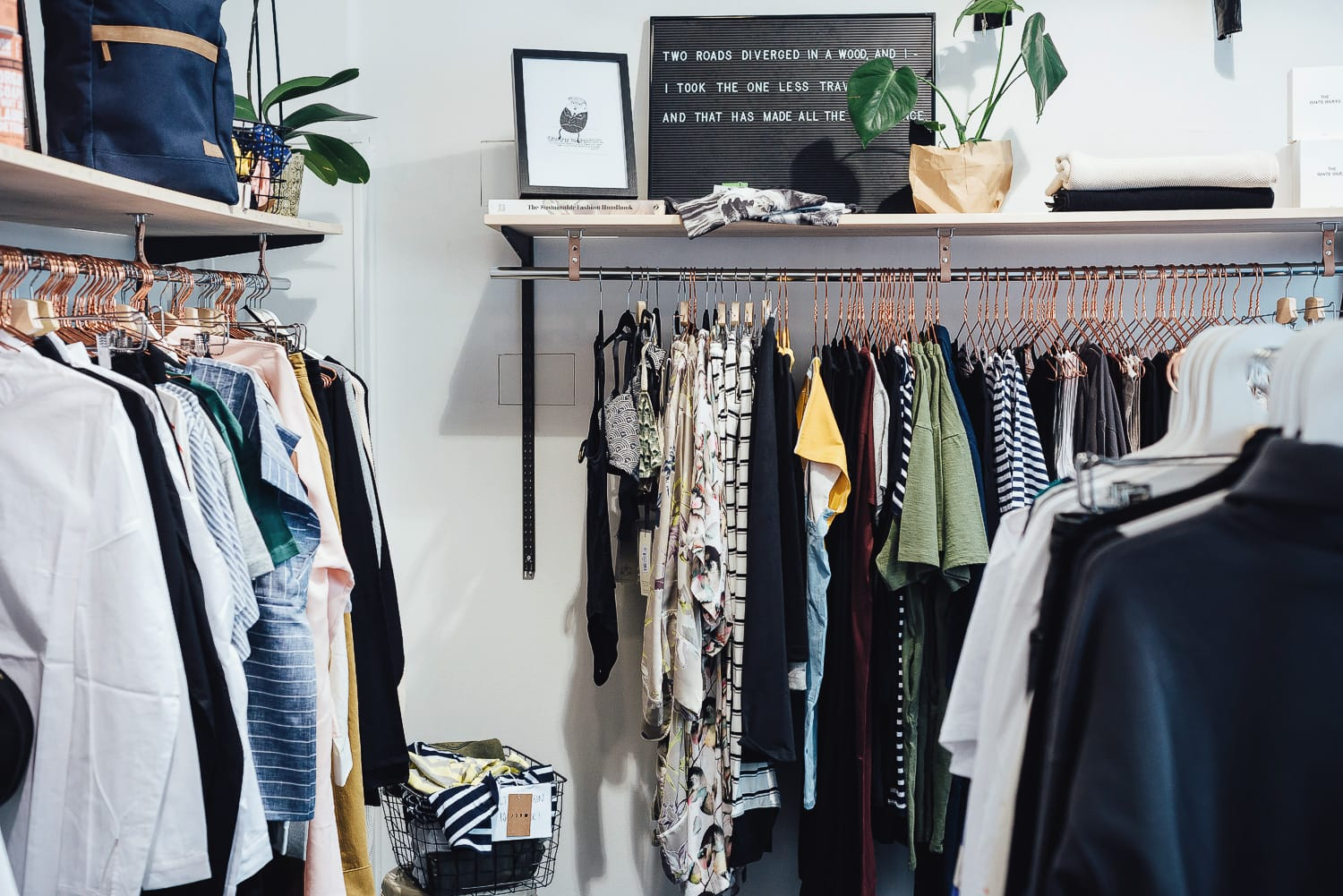 Clothes at the Ecosphere store