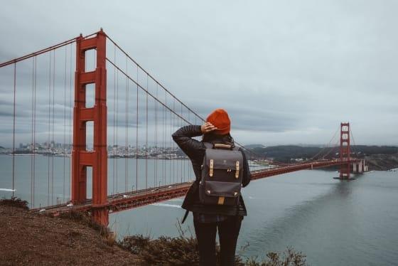 Golden Gate Bridge Photo © Rania Rönntoft   Northbound Journeys   www.northboundjourneys.com