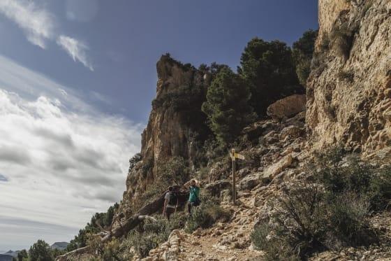 Hiking in Serra del Maigmó