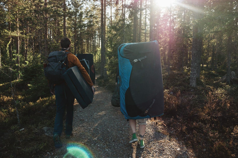 Bouldering in Morsviken