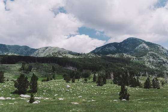 Orjen massif, Montenegro
