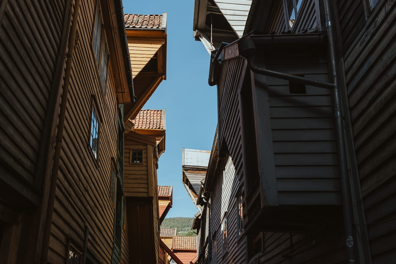 The wharf in Bergen