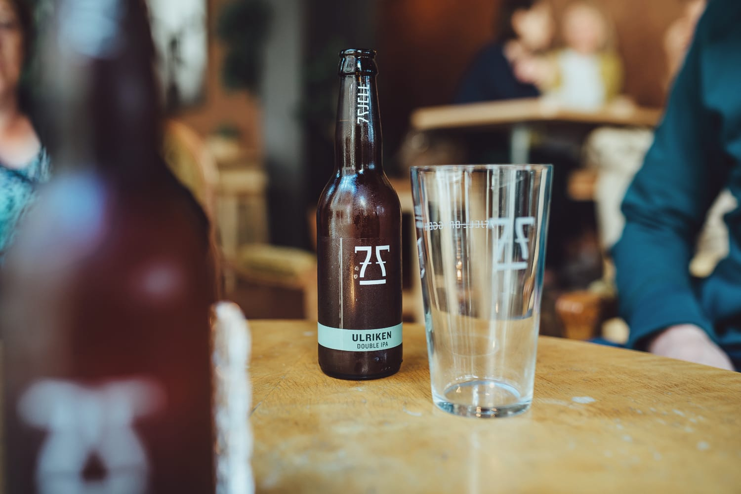 Local beer by 7 Fjell Brewery in Bergen