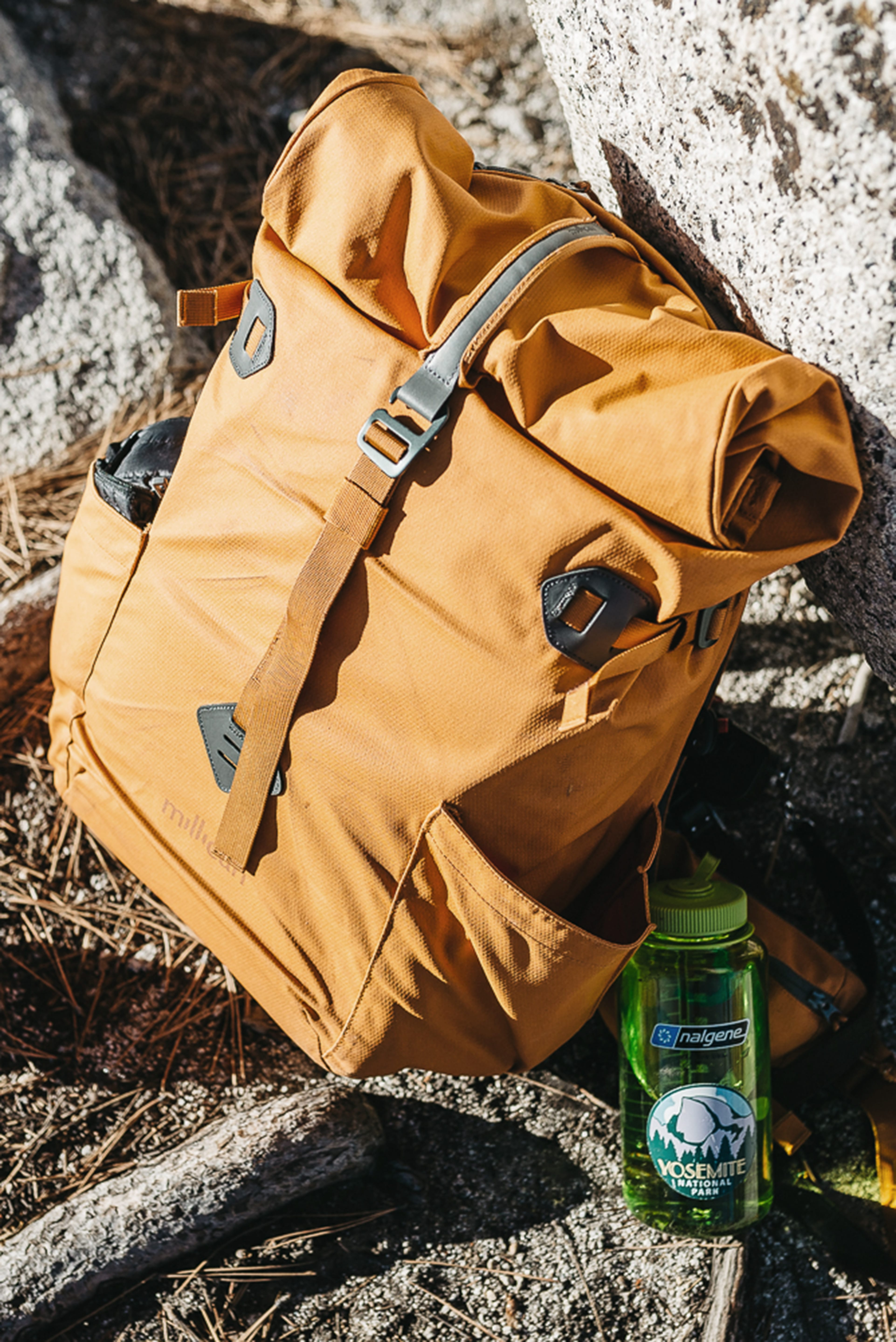Millican backpack & Nalgene