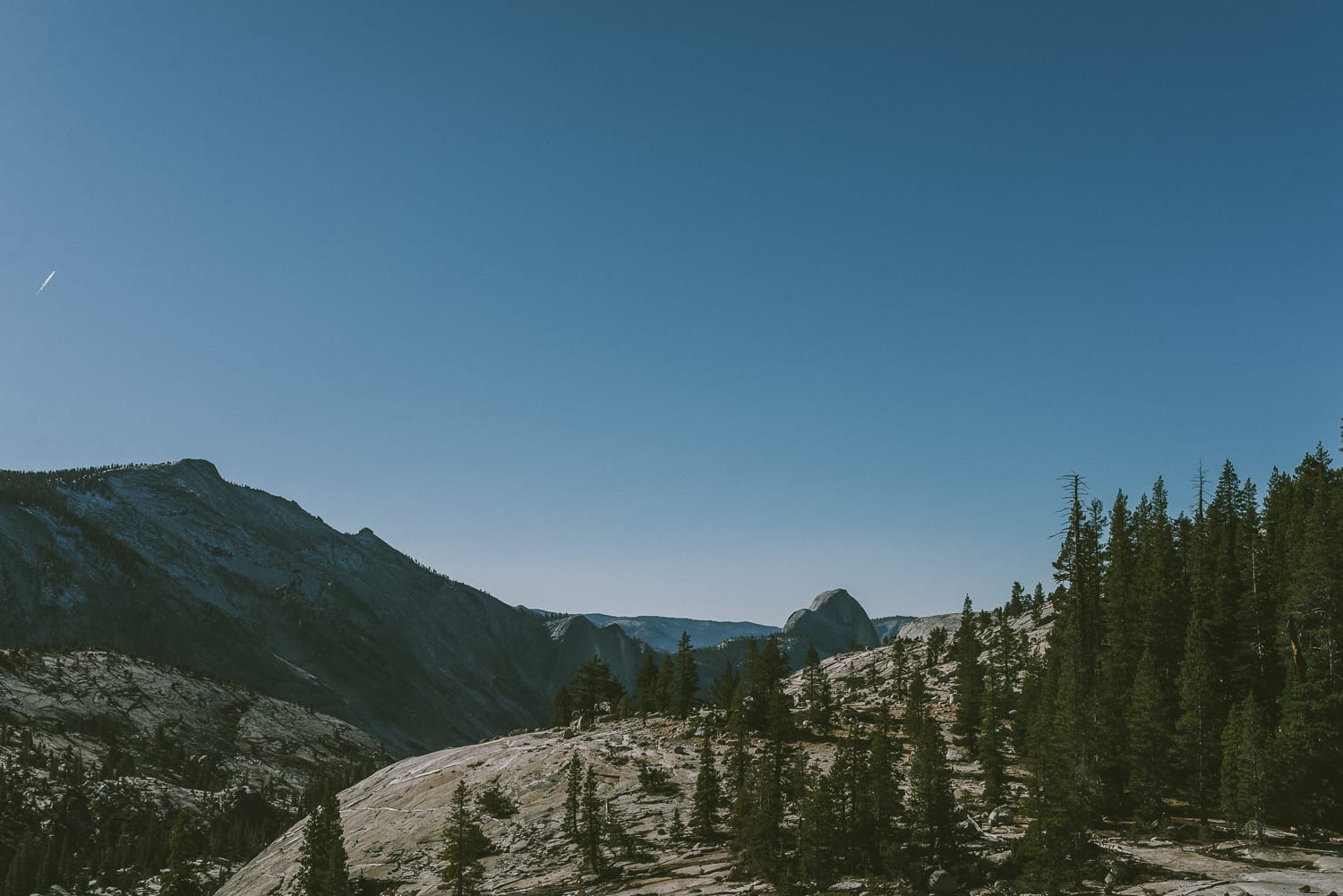 Half dome at Olmsted Point