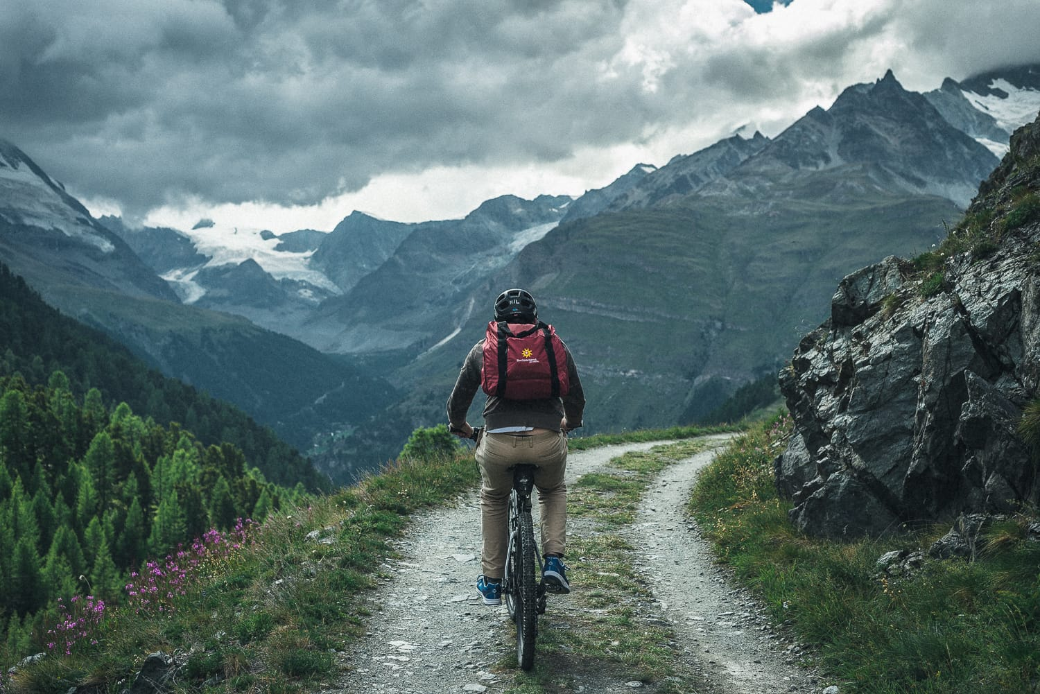 Switzerland pt. III – Mountain biking in the Swiss alps
