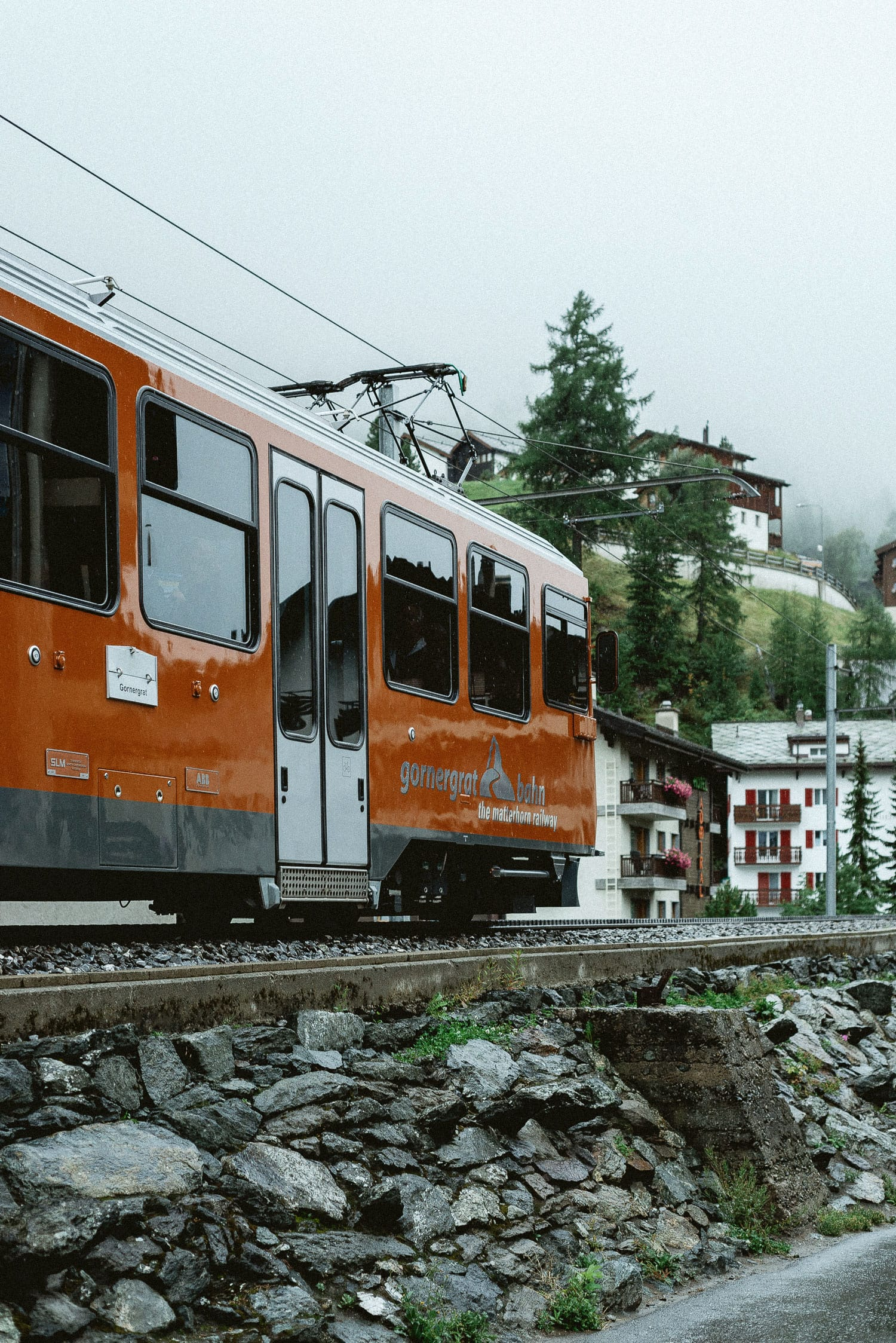 The Gornergrat cog railway