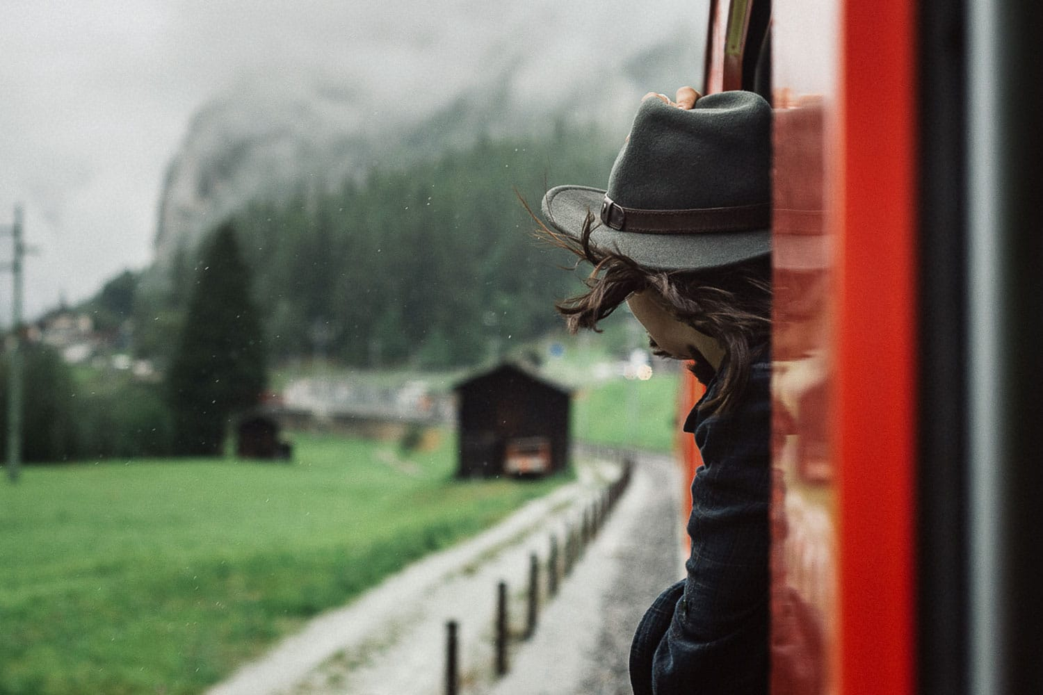 Switzerland part II – Taking the train to a rainy Zermatt