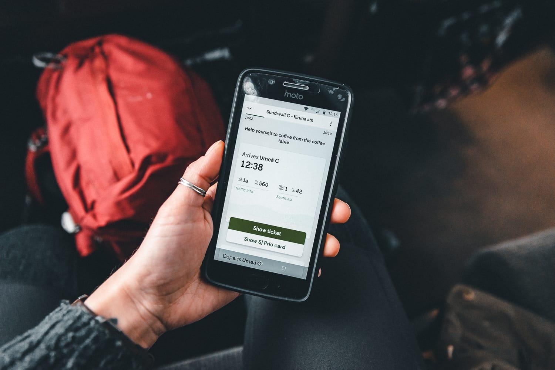 SJ Mobile App