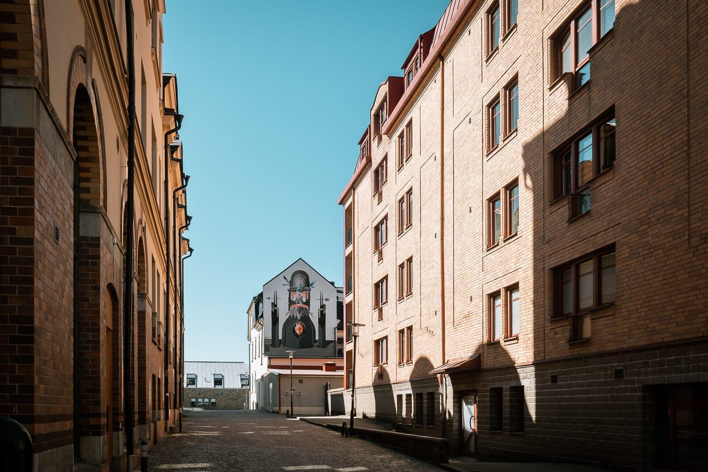 Street art in Borås