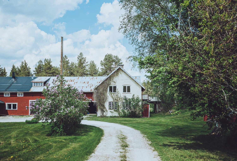 Fähuset at Näsets Marcusgård, Dalarna