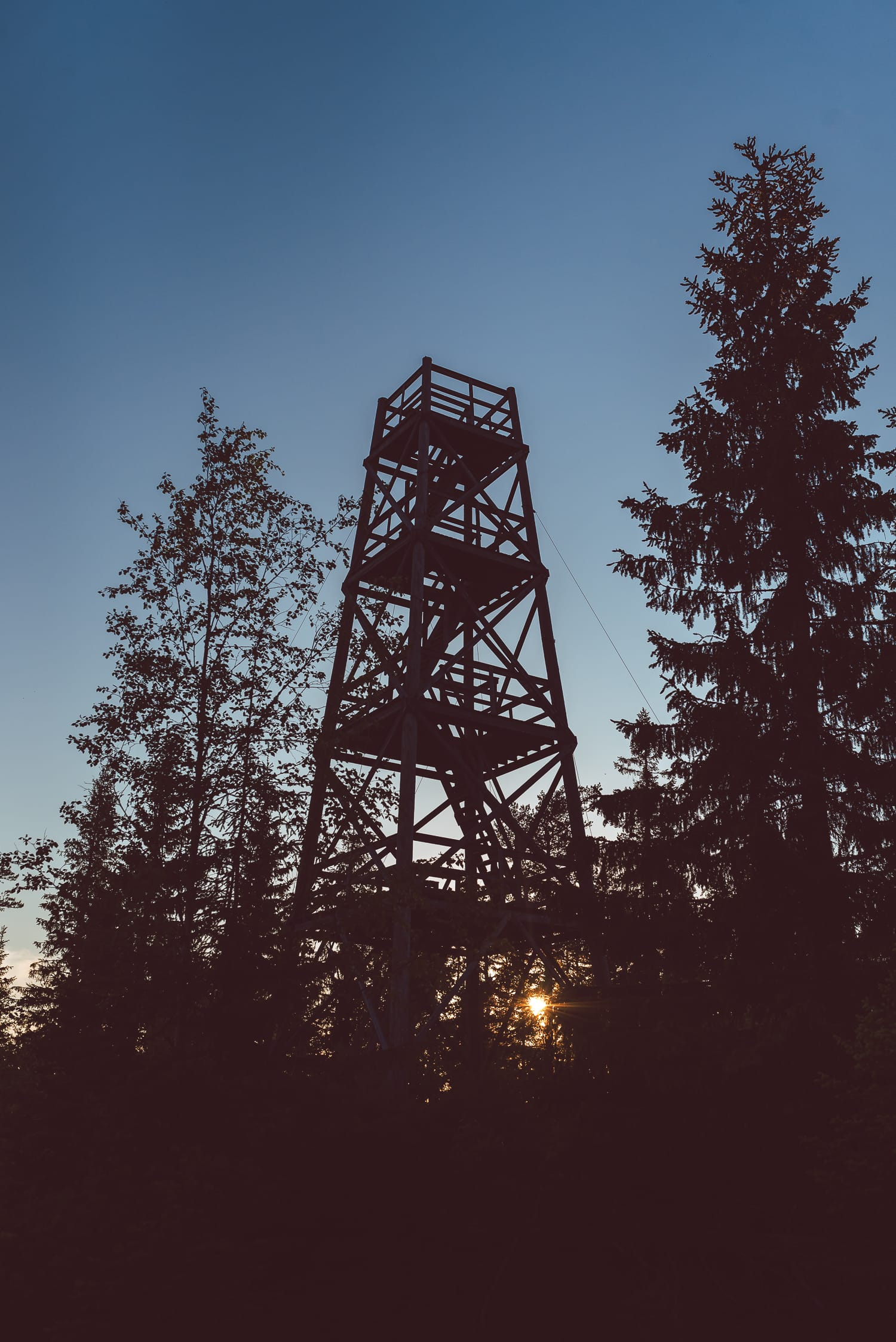 old watchtower in Sweden