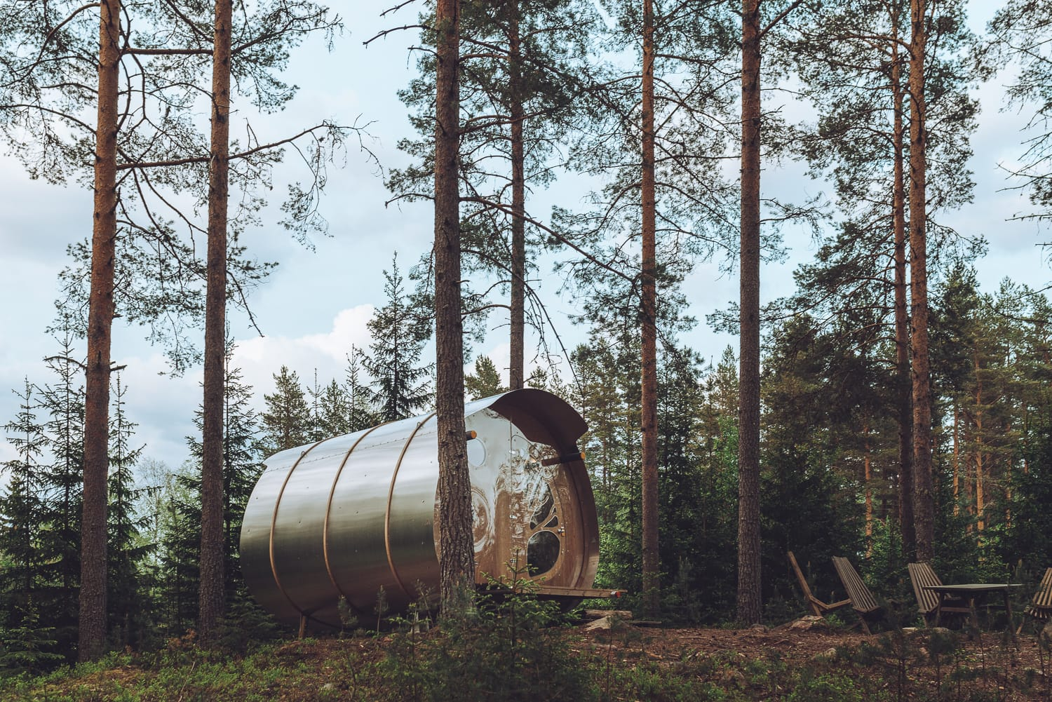 Odds Öga, The Fuselage, at Marcusgården in Dalarna