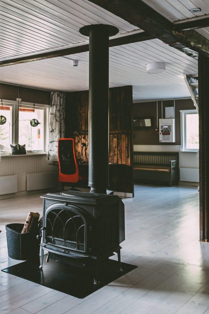 Fähust at Näsets Marcusgård in Dalarna