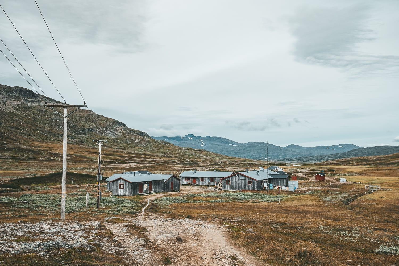 STF mountain station near Helags, Ljungdalen