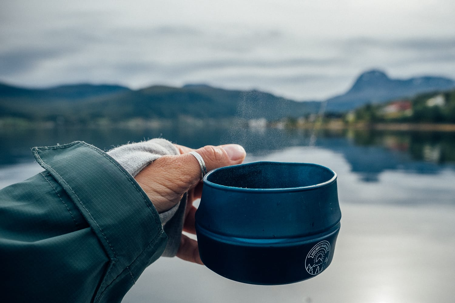 coffee in the mountains of Norway