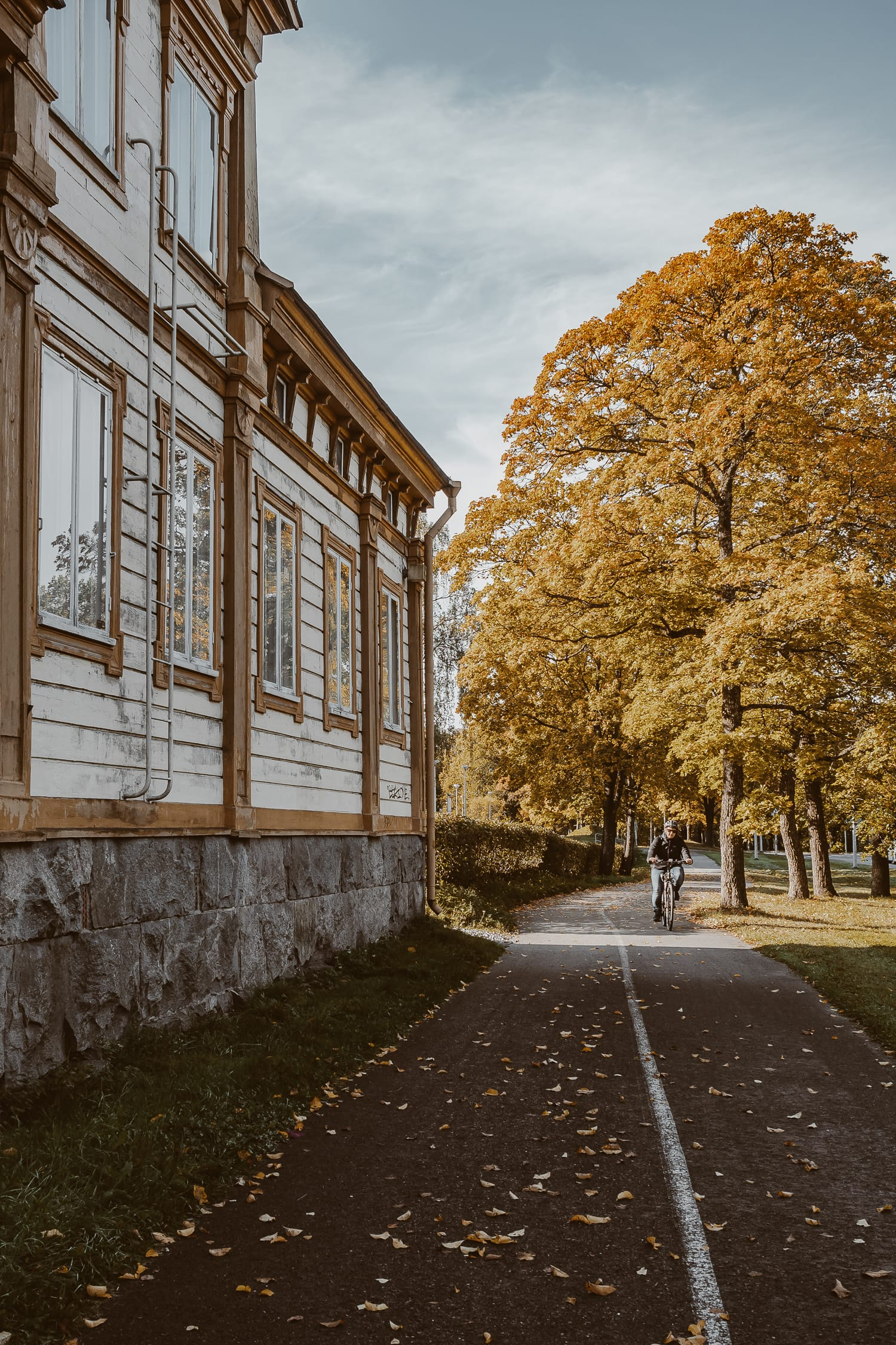 fall in Turku