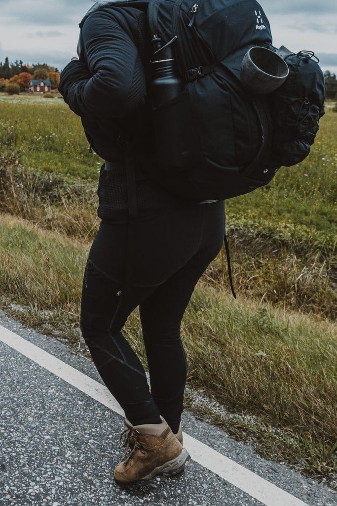 hiking along the St. Olav Waterways