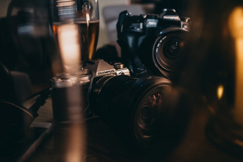 beer and cameras