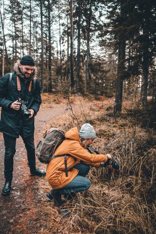 Exploring Utö with Olympus