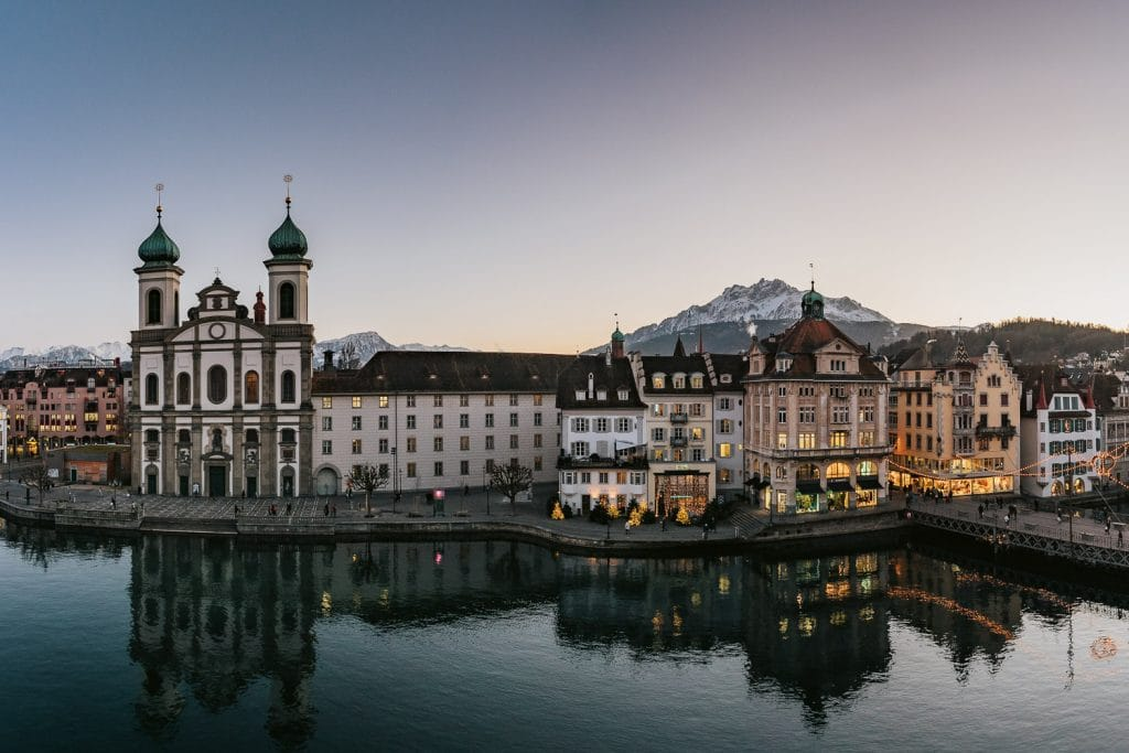 Panorama of Lucerne, Switzerland