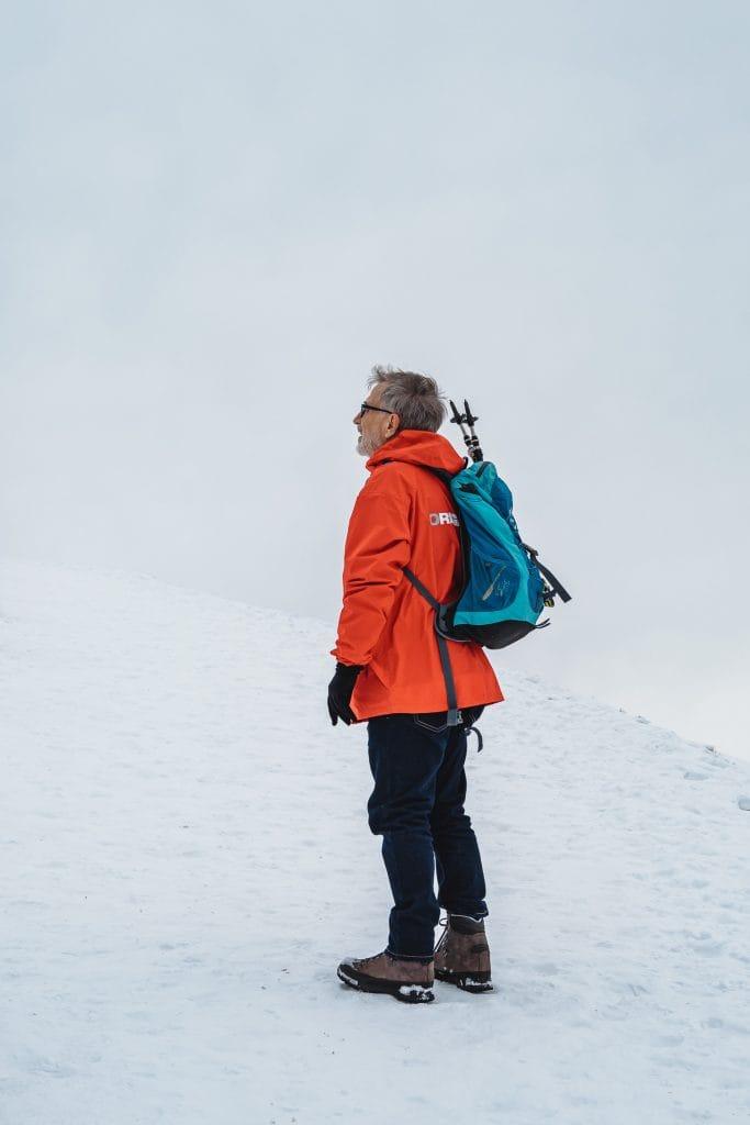 mountain guide in Switzerland