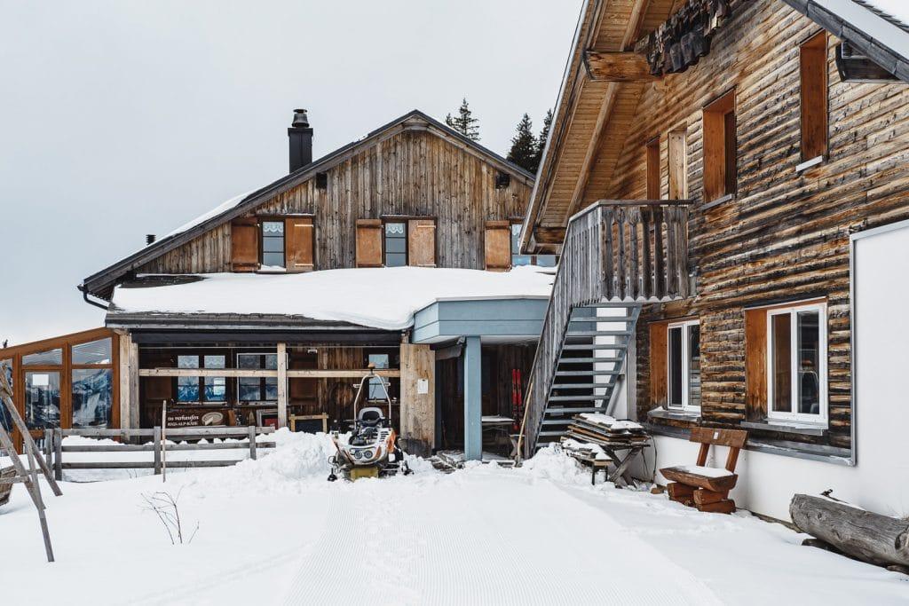 Restaurant Chäserenholz on Mount Rigi