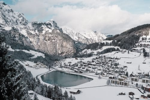 Winter in Engelberg