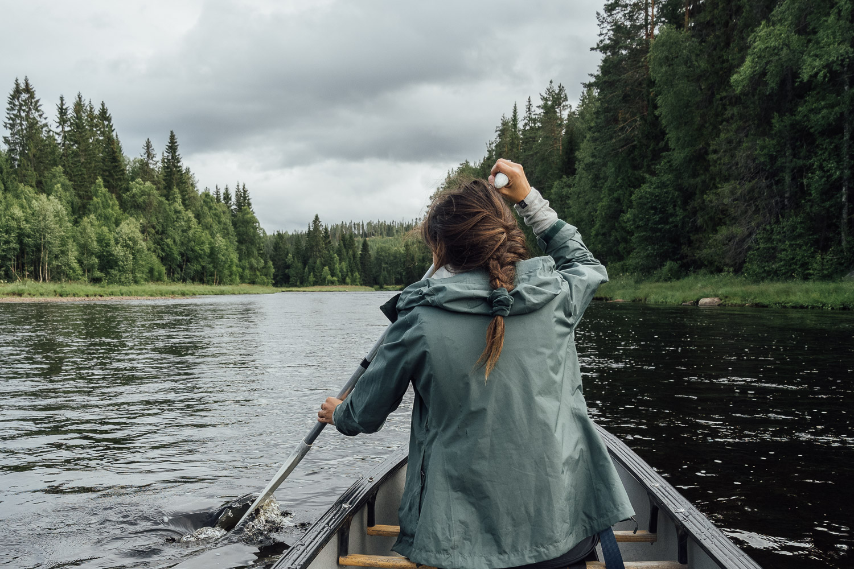 Paddla kanot i Västerdalälven