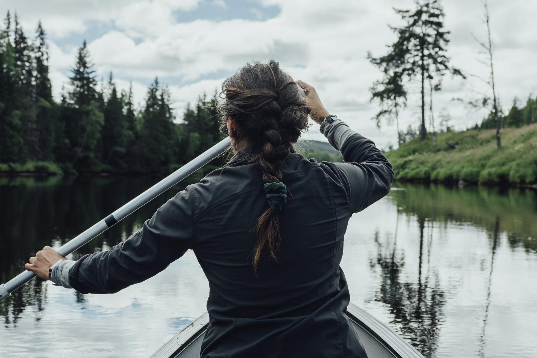 paddla kanot i Sälen