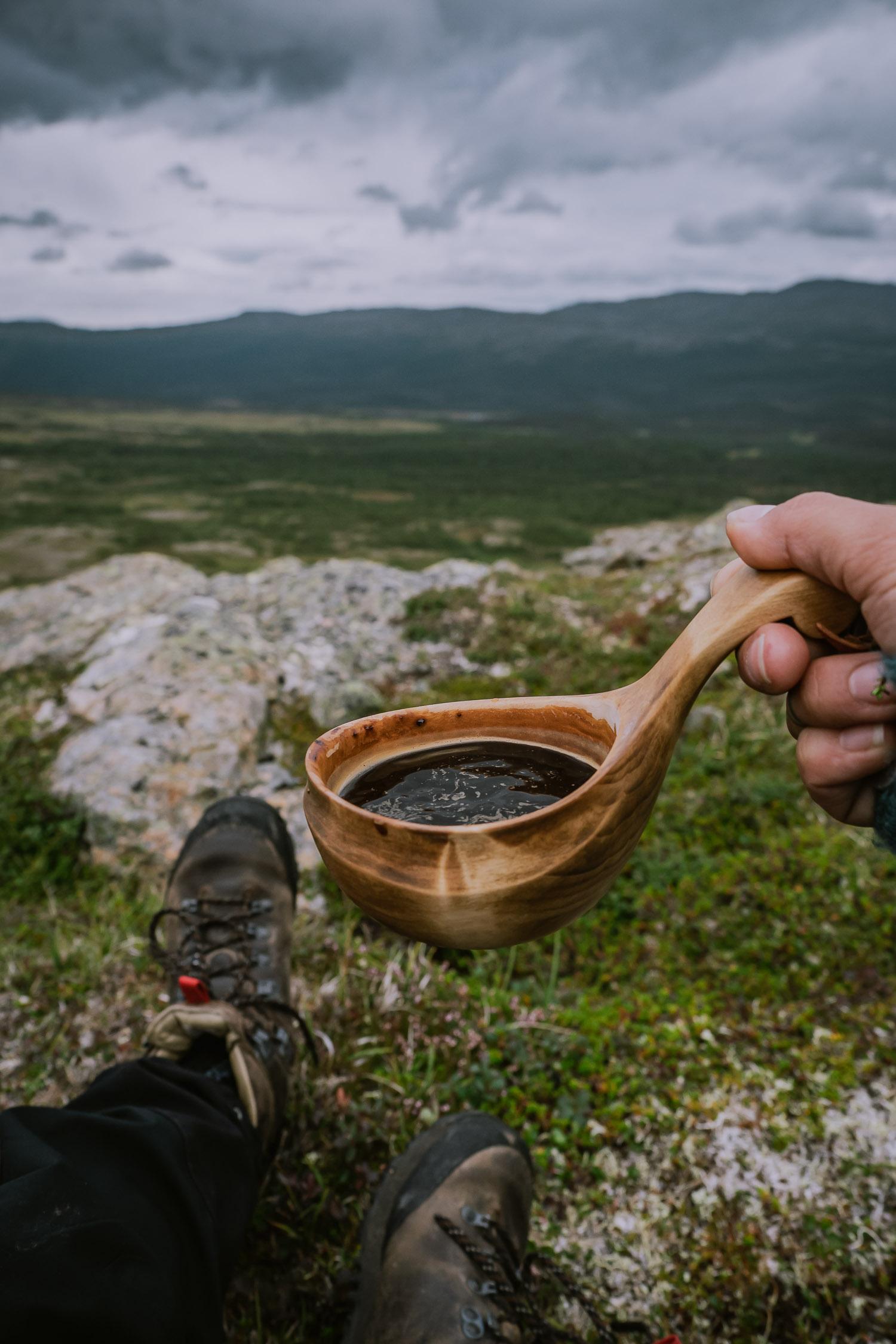 Kaffe i bergen