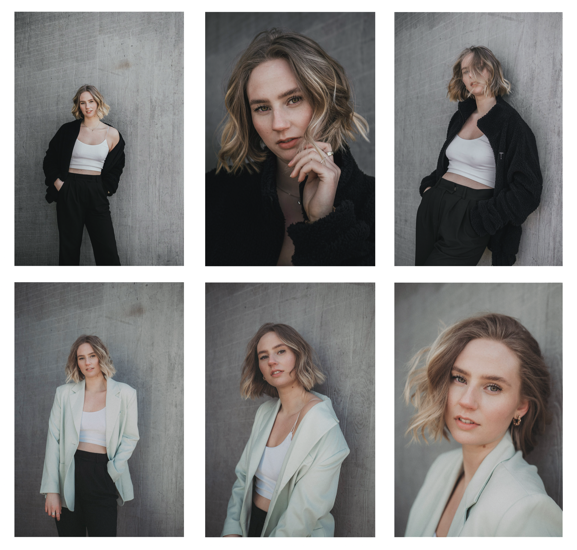 Portraits of Evelina Bergqvist