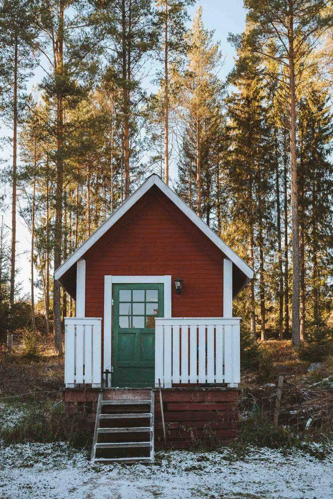 Swedish red sauna