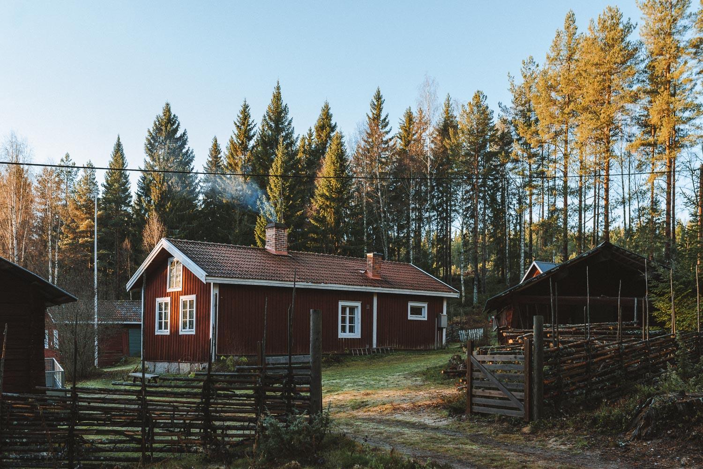 Swedish red cabin