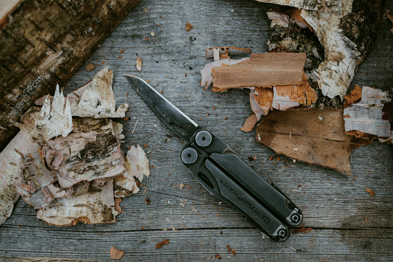 leatherman wave and bark