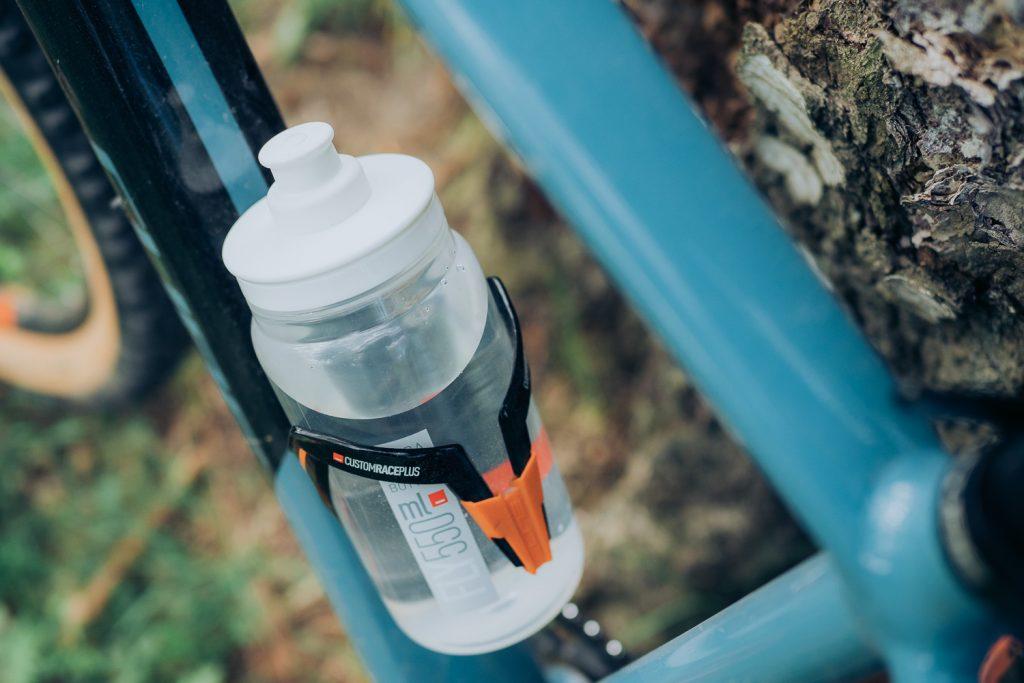 water bottle on bike