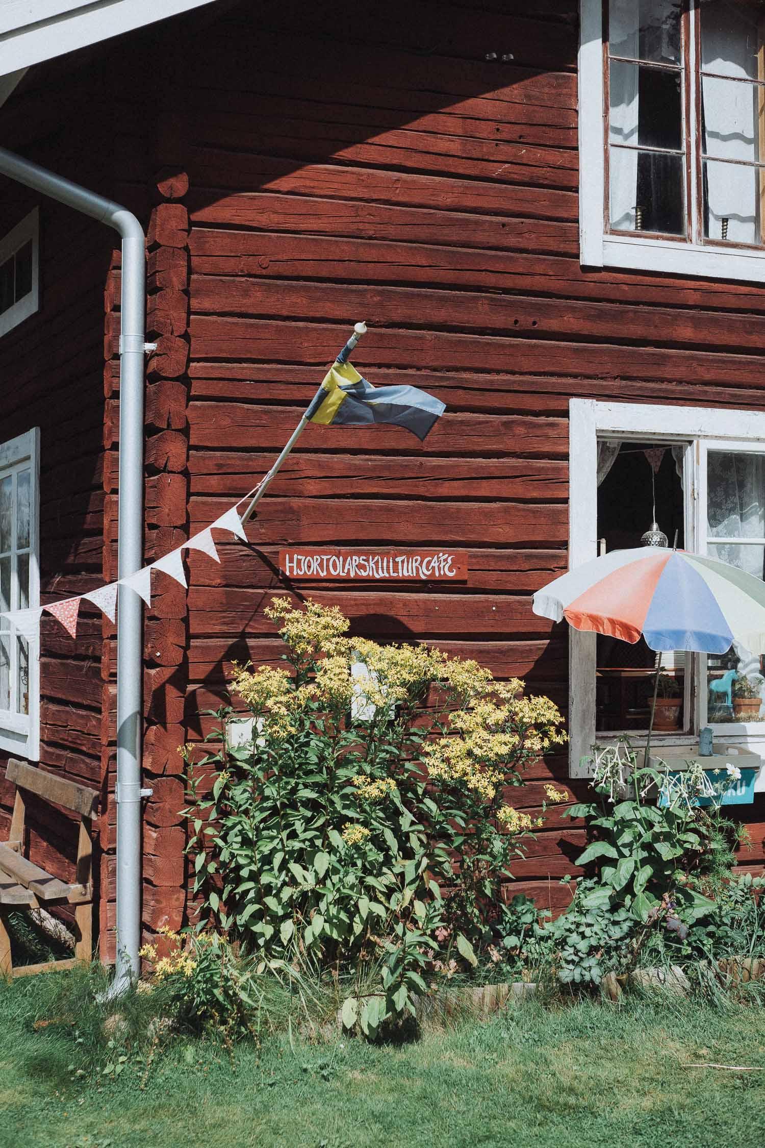 Weekend in Dalarna - Fika at Hjort-Olars Café